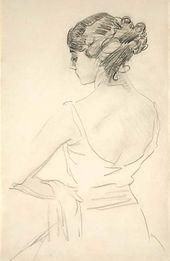 Portrait of Tamara Karsavina. 1909.