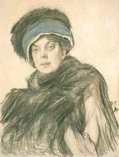 Portrait of Princess Olga Orlova. 1911.