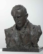 Portrait sculpture of Paolo Troubetzkoy. 1898.
