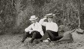 Léon Bakst and Lyubov Gritsenko-Bakst. 1903.