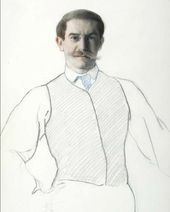 Léon BAKST. Self-portrait. 1906.