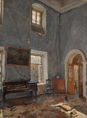 Valentin Serov. Parlour in the Old House. The Belkino Estate. 1904