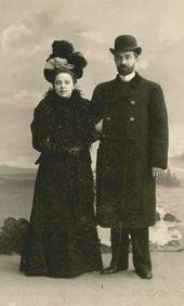 Viktor and Cleopatra Obninsky. St. Petersburg. April 1899