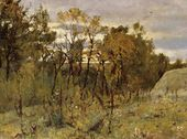 Autumn Evening. Domotkanovo. 1886