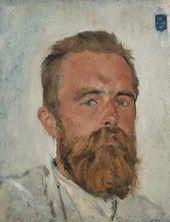 Portrait of Vladimir von Derviz. 1888