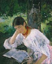 Portrait of Adelaida Simonovich. 1889