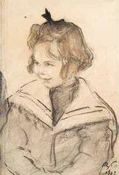 Sonya Guchkova. 1902