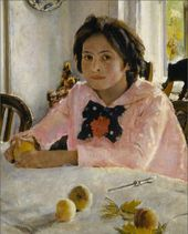 Valentin SEROV. Girl with Peaches. 1887