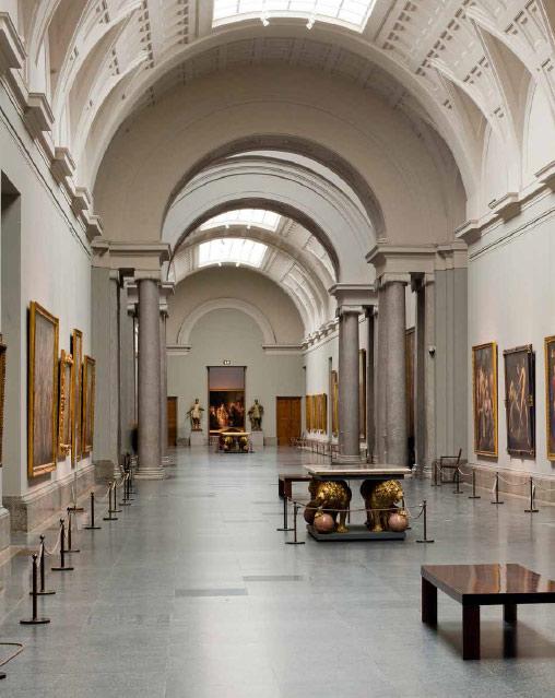 Museo Del Prado Interior