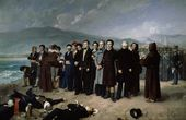 Antonio Gisbert. The Execution by Firing Squad of General Torrijos and His Companions on the Beach at Málaga. 1887–1888. © Museo Nacional del Prado