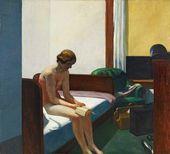 Edward Hopper. Hotel Room. 1931