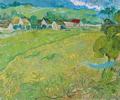 Vincent van Gogh. 'Les Vessenots' in Auvers. 1890