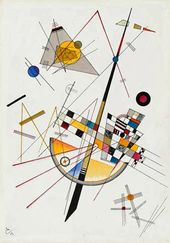 Wassily Kandinsky. Delicate Tension. 1923