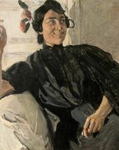 Alexander Golovin. A Spanish Woman with a Cigarette. 1906–1907