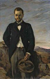 Ignacio Zuloaga. Portrait of Ivan Shchukin. 1899