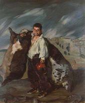 Ignacio Zuloaga. The Dwarf Grigorio, the Wine-skin Maker. 1908