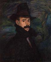 IGNACIO ZULOAGA. Self-portrait