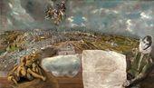 El Greco. View and Plan of Toledo. 1608. © Ministerio de Educacion, Cultura y Deporte, Espana