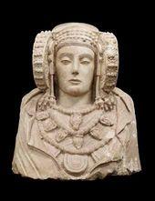Lady of Elche. V-IV c. AD. © Ministerio de Educacion, Cultura y Deporte, Espana