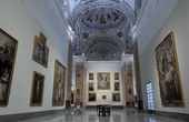 Hall of the Museum of Fine Arts in Seville. Hall V