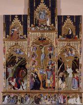 Gherardo Starnina. Retable of the Seven Sacraments