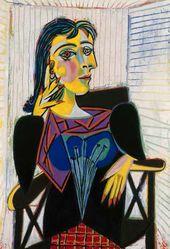 Portrait of Dora Maar. 1937