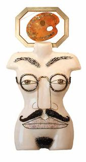 Alla BEDINA. Display Model 'Gentleman in Spectacles'. 2003