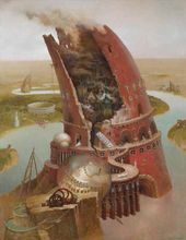 Mikhail Gorshunov. The Tower of Babel. 2013