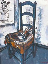 A Chair. Picasso's Palette. 1989