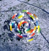 "From the cycle ""Coloured Constructions"". 2007"