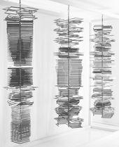 Eusebio Sempere. Columns. 1974. © Eusebio Sempere, VEGAP, Madrid, 2015