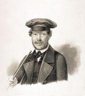 Copy of Maria Poltoratskaya by Karl Kreil. Sergei Sobolevsky. 1844