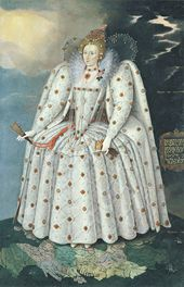 "Marcus Gheeraerts the Younger. Queen Elizabeth I (""The Ditchley portrait""). c. 1592. © National Portrait Gallery, London"