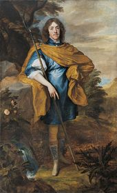 Sir Anthony Van Dyck. Lord George Stuart. c. 1638. © National Portrait Gallery, London