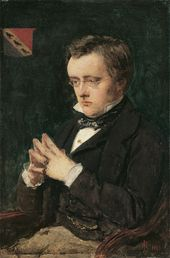Sir John Everett Millais, 1st Bt. Wilkie Collins. 1850. © National Portrait Gallery, London