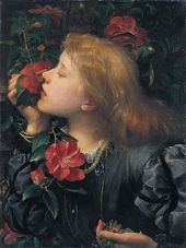 "George Frederic Watts. ""Choosing"" (Ellen Terry). 1864. © National Portrait Gallery, London"