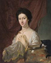 Nathaniel Hone. Kitty Fisher. 1765. © National Portrait Gallery, London