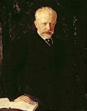 Nikolai Kuznetsov. Portrait of Pyotr Tchaikovsky. 1893