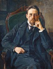 Osip Braz. Portrait of Anton Chekhov. 1898