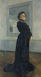 Valentin SEROV. Portrait of Maria Yermolova. 1905
