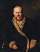 Vasily Perov. Portrait of Alexander Ostrovsky. 1871