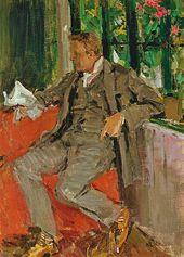 Konstantin Korovin. Portrait of Feodor Chaliapin. 1905