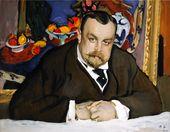 Valentin SEROV. Portrait of Ivan Morozov. 1910
