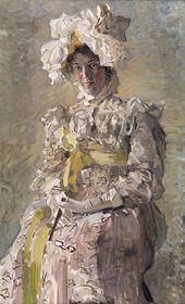 Mikhail Vrubel. Portrait of Nadezhda Zabela-Vrubel. 1898