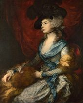 Thomas Gainsborough. Mrs Siddons (Sarah Siddons). 1785