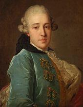 Fyodor Rokotov. Portrait of Prince Dmitry Golitsyn. 1760s