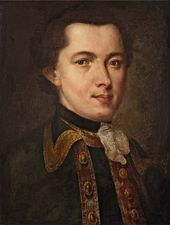 Fyodor Rokotov. Portrait of an Unknown Man. 1757