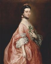 Thomas Gainsborough. Mary Little, Later Lady Carr. c. 1765