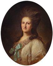 Fyodor Rokotov. Portrait of Varvara Novosiltsova. 1780