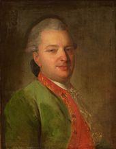 Ф.С. Fyodor Rokotov. Portrait of Vasily Maikov. 1775–1778